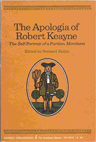 The Apologia of Robert Keayne