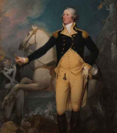 General George Washington at the Battle of Trenton by John Trumbull Yale University Art Gallery