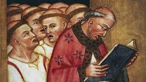Benedictine Monks at Prayer
